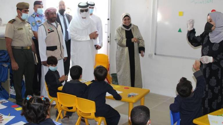 An image that illustrates this article Emirates Red Crescent opens learning disability centre at Mrajeeb Al Fhood refugee camp