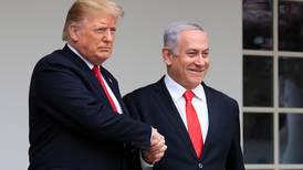 Trump to present Middle East peace plan before meeting Israeli leaders next week