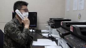 North Korea restores cross-border hotline with South Korea