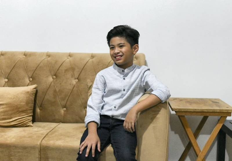 Peter Rosalita-AD  Peter Rosalita, 10, born in the United Arab Emirates appeared on the latest season of AmericaÕs Got Talent for his singing talent in Abu Dhabi on June 7, 2021. Reporter: David Tusing Features