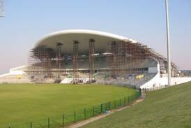 How Zayed Cricket Stadium was designed ... with coat hangers