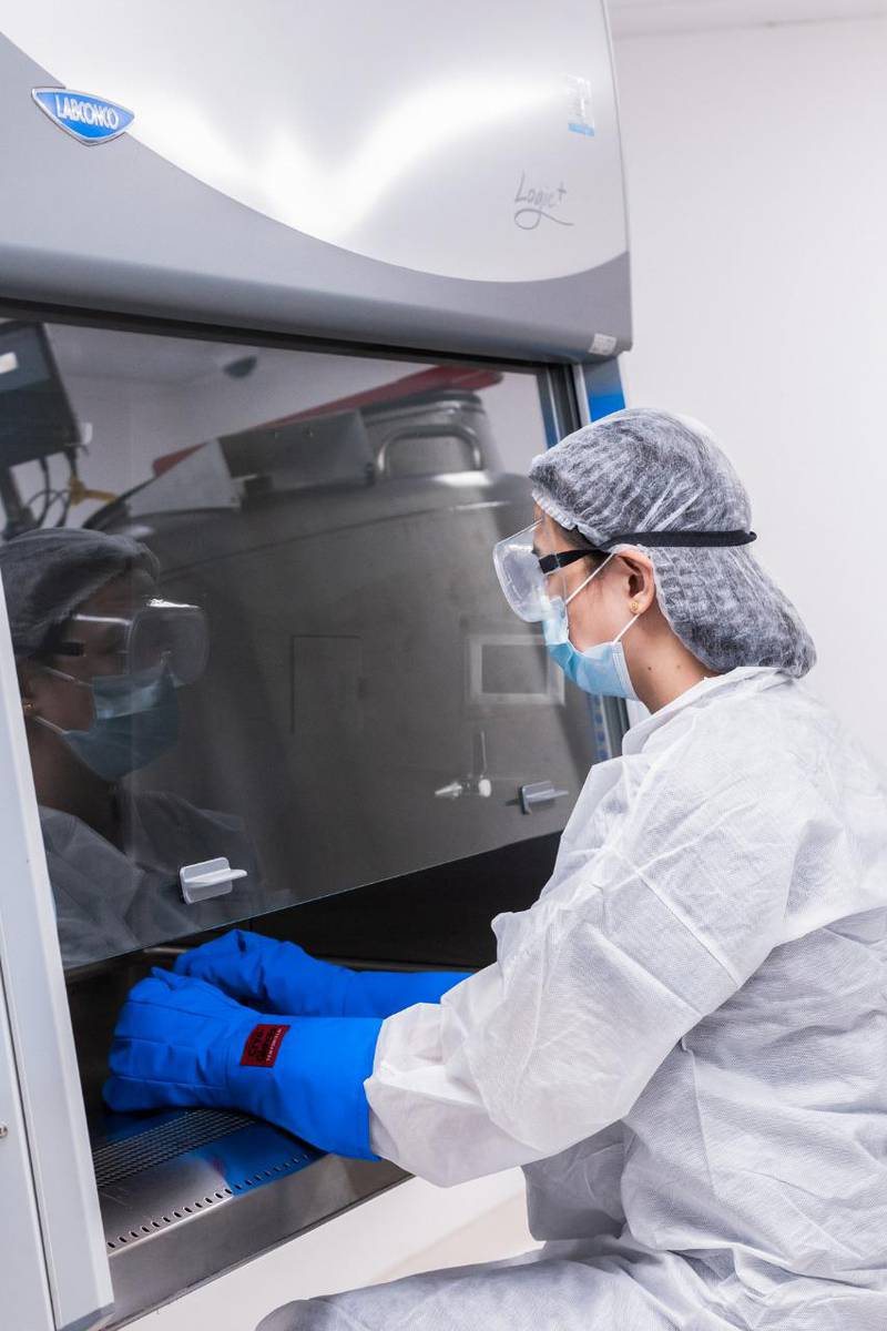 Innovative treatment for a virus Developed by UAE stem cell center with promising results. Photo: WAM Twitter account