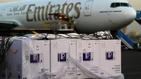 Coronavirus: Emirates SkyCargo transports 50 million vaccine doses on 150 flights