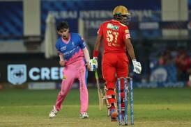 IPL 2021: Kartik Tyagi seals Dubai heist as Rajasthan Royals stun Punjab Kings