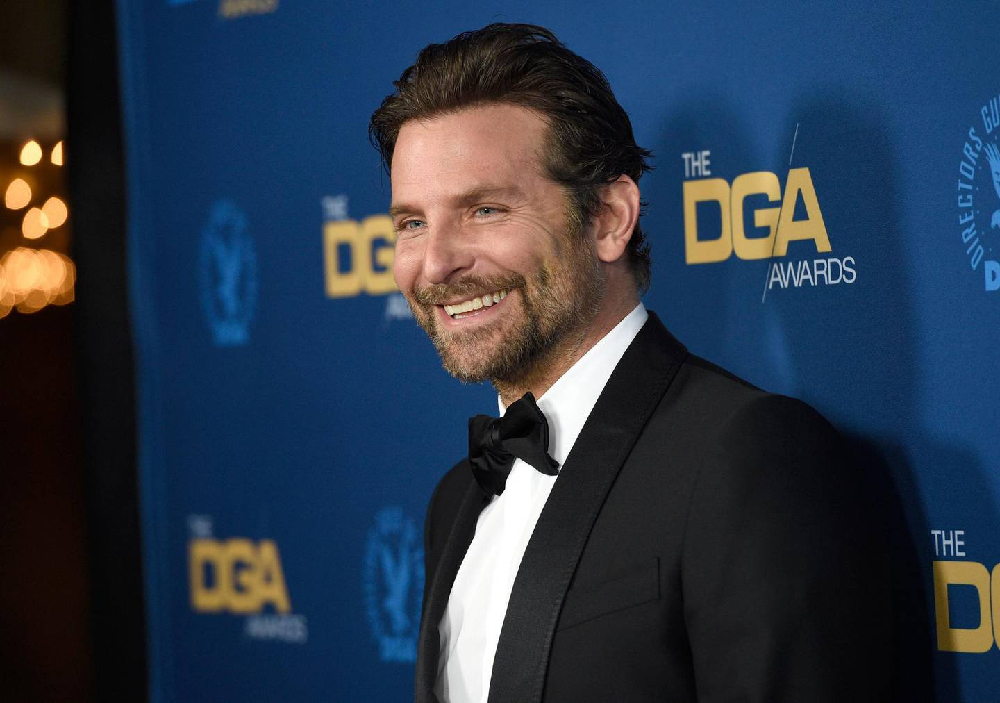 Bradley Cooper arrives at the 71st annual DGA Awards at the Ray Dolby Ballroom on Saturday, Feb. 2, 2019, in Los Angeles. (Photo by Chris Pizzello/Invision/AP)