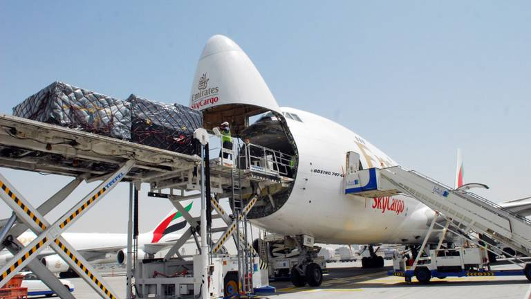 An image that illustrates this article Air cargo demand remains strong but Delta strain poses risk, Iata says