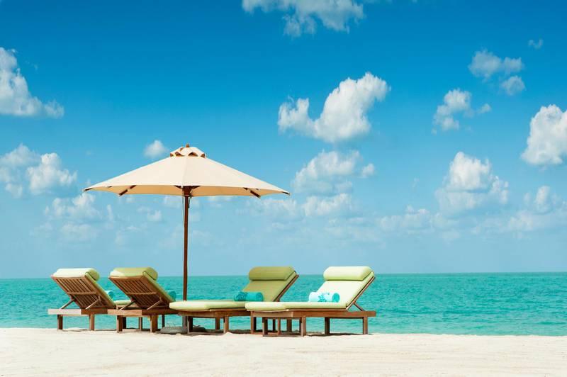 The St. Regis Beach Club on Saadiyat Island, Abu Dhabi for a story by freelancer Jess Hill about beach clubs, Oct. 2013 CREEIT: Courtesy St. Regis Saadiyat Island Resort *** Local Caption ***  StRegisBeachSaadiyat1.jpg