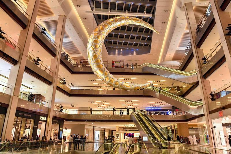 The Galleria Al Maryah Island. Needs credit