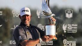 'Hard work' leads Lee Westwood to 25th European Tour title at Abu Dhabi HSBC Championship