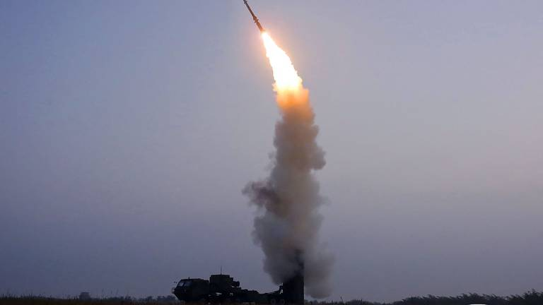 An image that illustrates this article North Korea says it has test-fired an anti-aircraft missile
