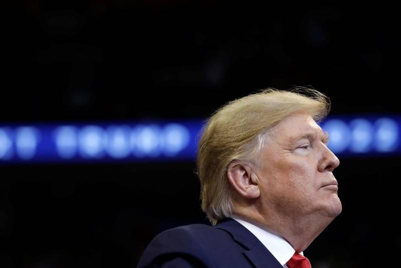 U.S. President Donald Trump holds a campaign rally in Sunrise, Florida, U.S., November 26, 2019. REUTERS/Yuri Gripas