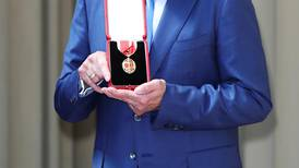 Bee Gees' Barry Gibb honoured at Buckingham Palace with knighthood