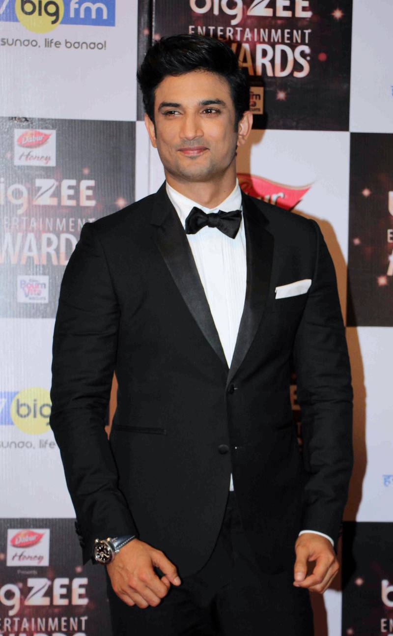In this photograph taken on July 29, 2017, Indian Bollywood actor Sushant Singh Rajput attends the BIG ZEE Entertainment Awards 2017 ceremony in Mumbai. (Photo by STR / AFP)