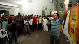 Dubai labourers tell stories of struggle and survival through song and dance