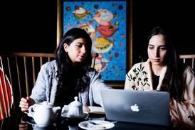 The trailblazing Saudi sisters promoting the kingdom's cutting-edge design