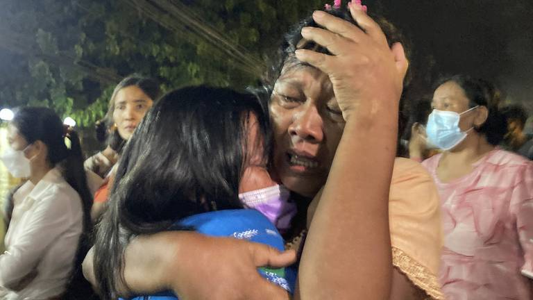An image that illustrates this article Myanmar frees hundreds of political prisoners days after Asean snub