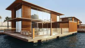 Watch: Dubai's first water homes are ready to move into
