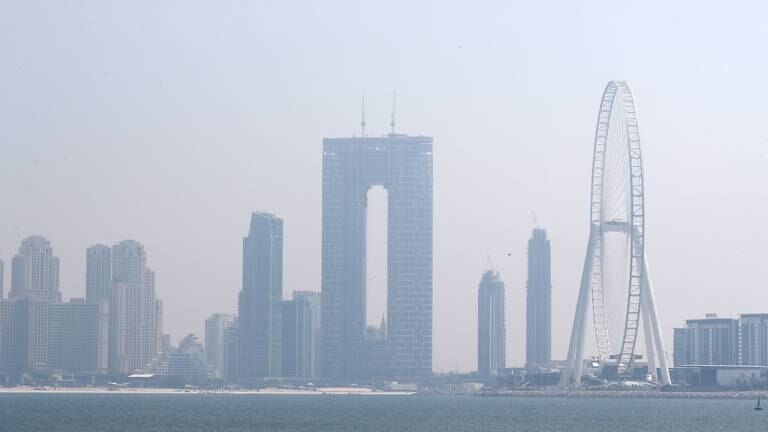An image that illustrates this article UAE weather: fair and hazy with a drop in temperatures
