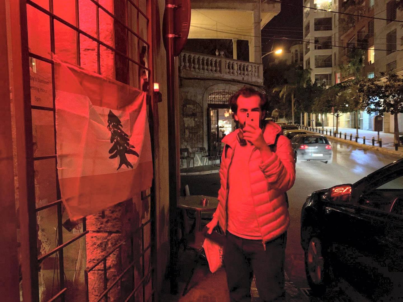 In Beirut - Abdulrahman Abumalih's podcast Fnjan in Saudi Arabia