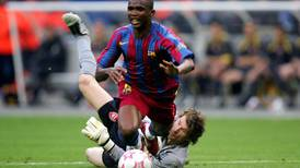On this day, May 17, 2006: Barcelona leave it late to break down 10-man Arsenal and win second European Cup
