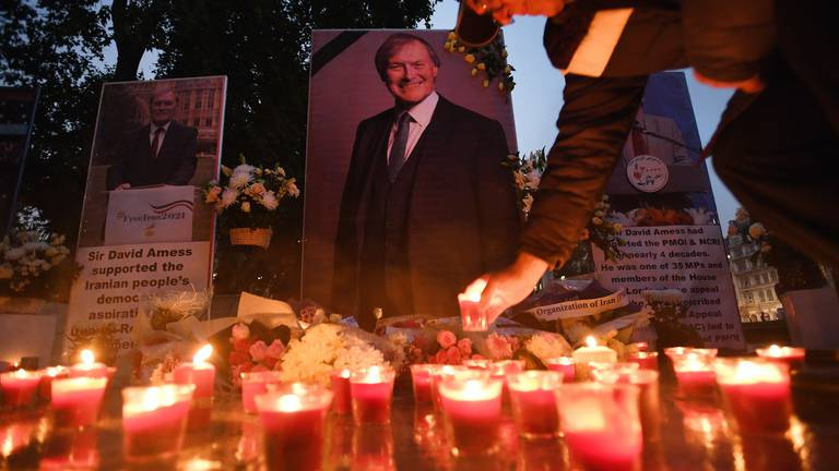 An image that illustrates this article The UK's week in pictures: David Amess vigils, Covid cases rise, and Queen Elizabeth
