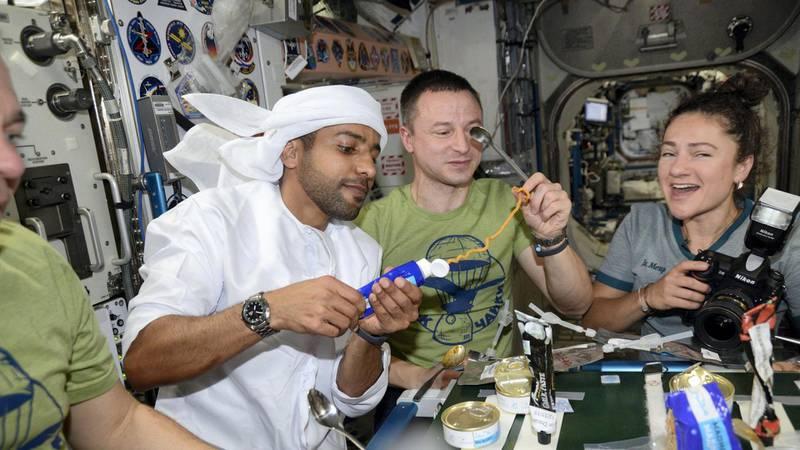 UAE astronauts
