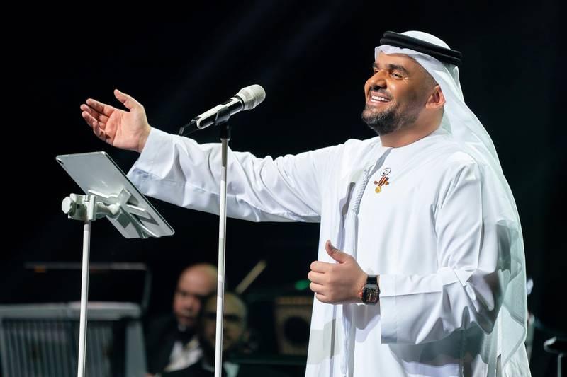 Dubai raised its curtains once again with an Eid concert featuring Emirati star Hussain Al Jassmi on August 1, 2020. Courtesy Hussain Al Jassmi