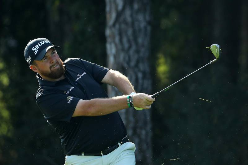 ANTALYA, TURKEY - NOVEMBER 09:  Shane Lowry of Ireland chips onto the first green during the third round of the Turkish Airlines Open at The Montgomerie Maxx Royal on November 09, 2019 in Antalya, Turkey. (Photo by Warren Little/Getty Images)