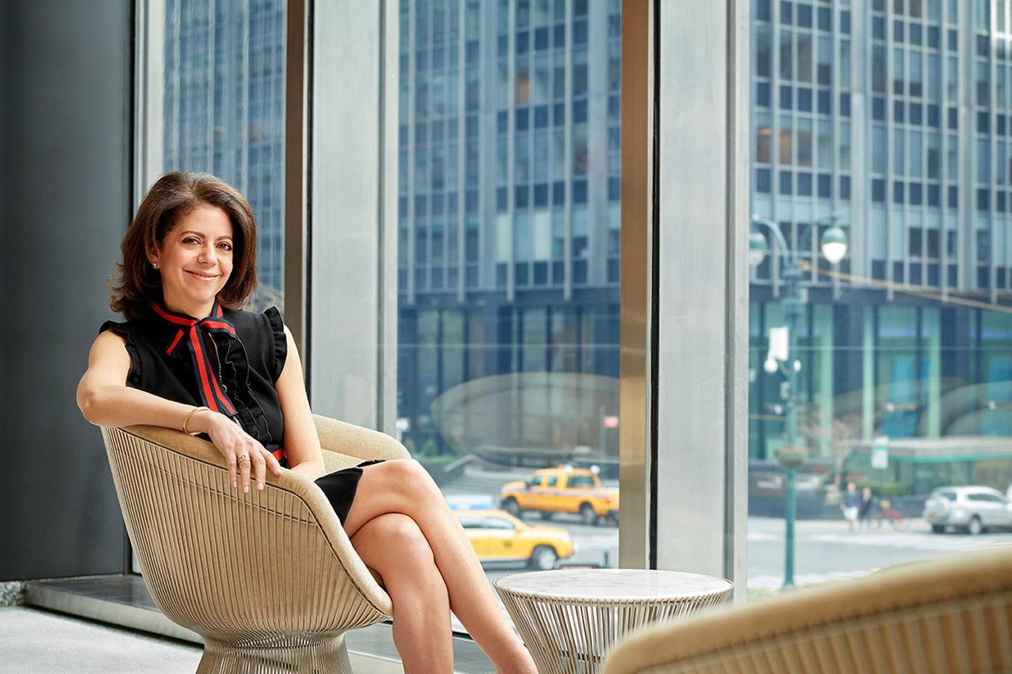 Claudia Jury, global co-head of currencies and emerging markets at JPMorgan Chase & Co, poses in New York, New York, in this February 25, 2017 photo, provided May 23, 2018.    Courtesy of Carnegie Mellon University/Handout via REUTERS    ATTENTION EDITORS - THIS IMAGE WAS PROVIDED BY A THIRD PARTY NO RESALES, NO ARCHIVE