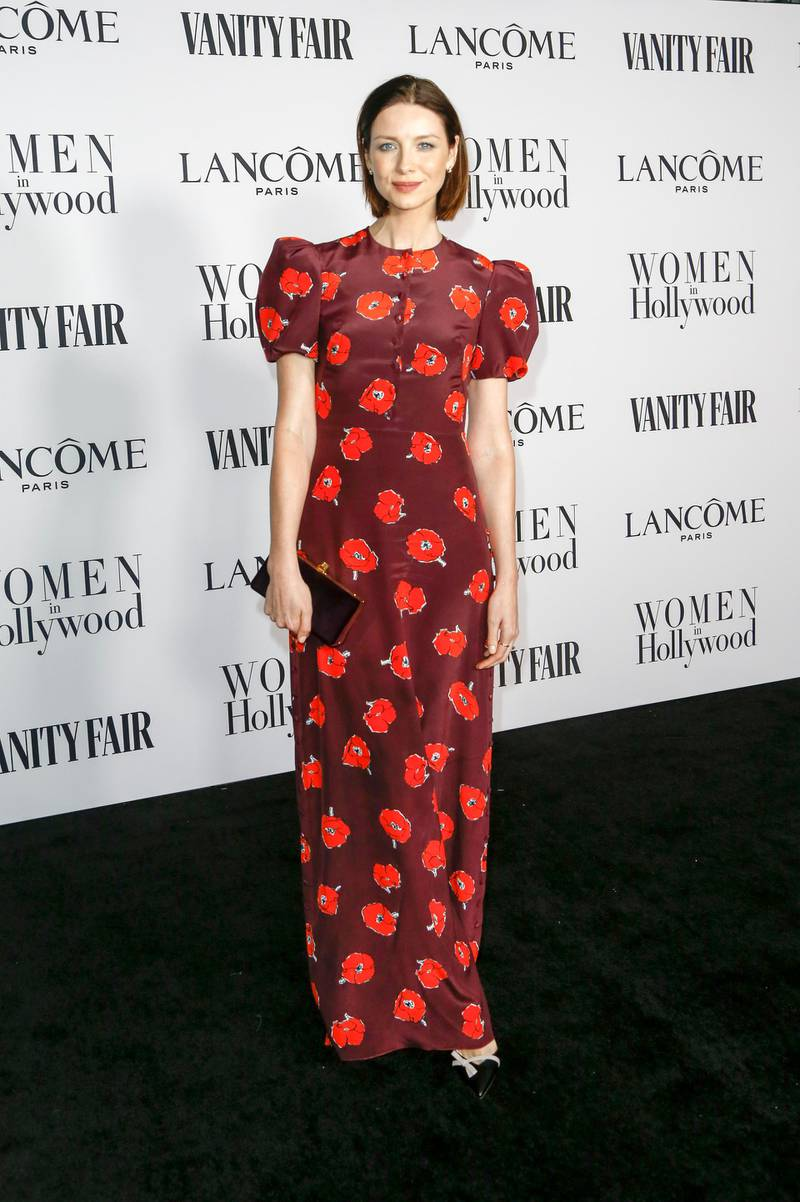 epa08199546 Caitriona Balfe attends the Vanity Fair and Lancome Women In Hollywood Celebration at the Soho House in Hollywood, California, USA, 06 February 2020.  EPA-EFE/RINGO CHIU