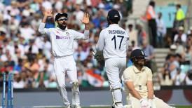 Virat Kohli calls the tune as Jasprit Bumrah and Shardul Thakur shoot down England