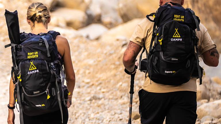 An image that illustrates this article Campr launches hassle-free packs for hiking in the UAE wilderness
