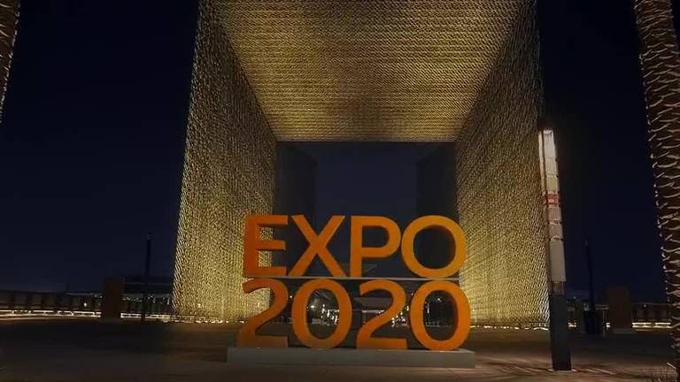 An image that illustrates this article Expo opening ceremony advert