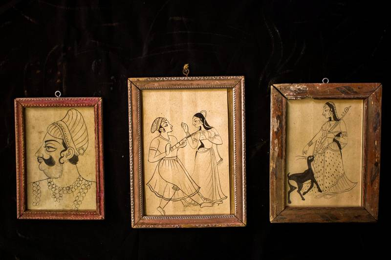 Vaishnavdas had hand-made these sketches that could serve as a blueprint for future generation artists. He had sensed that commercialisation would take over the art and hence left behind over 60 such sketches of the Kishangarh School of Art. Courtesy: Sanket Jain