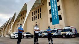 Abu Dhabi Grand Prix: Safety marshals and ambulance crews at the ready