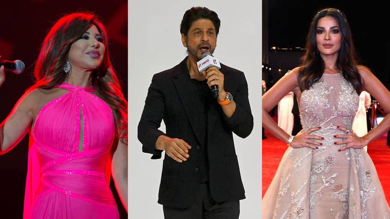 An image that illustrates this article Shah Rukh Khan to Myriam Fares: 26 celebrities with the UAE golden visa