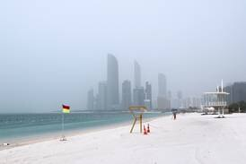 UAE weather: fair, partly cloudy and hazy