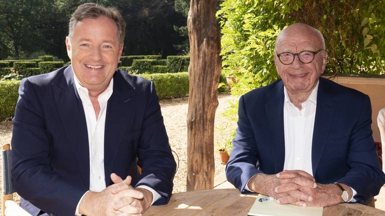 An image that illustrates this article Piers Morgan to launch global Fox News-backed TV show