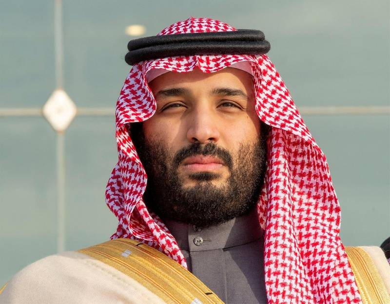 FILE PHOTO: Saudi Arabia's Crown Prince Mohammed bin Salman attends a graduation ceremony for the 95th batch of cadets from the King Faisal Air Academy in Riyadh, Saudi Arabia December 23, 2018. Picture taken December 23, 2018. Bandar Algaloud/Courtesy of Saudi Royal Court/Handout via REUTERS/ATTENTION EDITORS - THIS PICTURE WAS PROVIDED BY A THIRD PARTY./File Photo