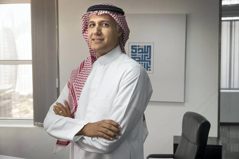 SHARJAH, UNITED ARAB EMIRATES. 12 SEPTEMBER 2019. Khalid Alturki, Founder & Managing Director, Marefa Digital. (Photo: Antonie Robertson/The National) Journalist: Sarmad Khan. Section: Business.