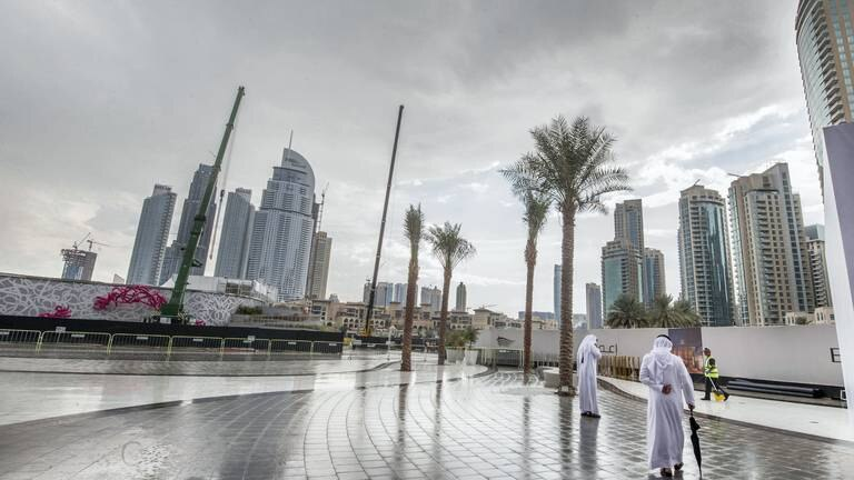An image that illustrates this article UAE weather: Partly cloudy with light rain and lower temperatures