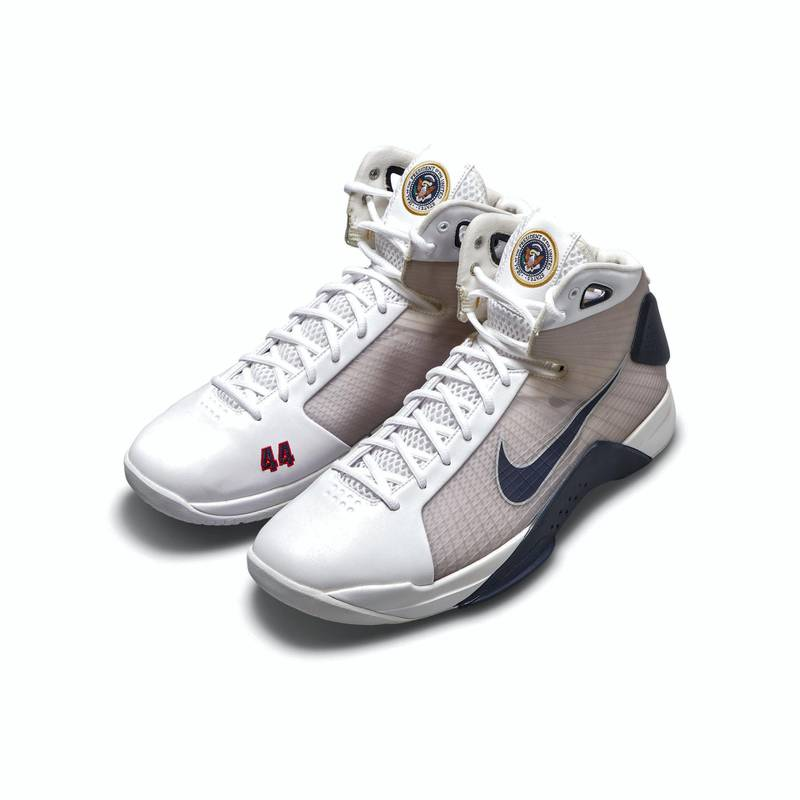 Sotheby's to offer President Barack Obama player exclusive Nike Hypderdunks. Courtesy Sotheby's