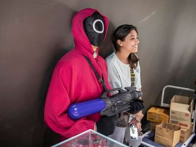 Squid Game comes to Expo 2020 Dubai - in pictures