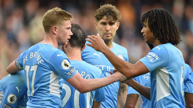 An image that illustrates this article City enjoy another 'good result' against Burnley at Etihad Stadium