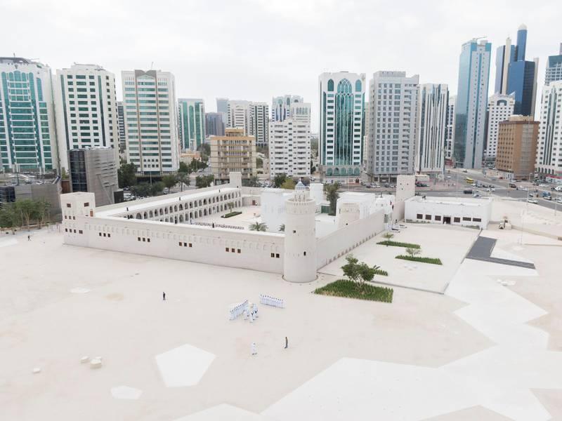 ABU DHABI, UNITED ARAB EMIRATES - February 11, 2020: General view of Qasr Al Hosn.  ( Saeed Khawaja for the Ministry of Presidential Affairs ) ---