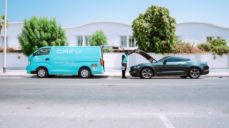 An image that illustrates this article On-demand fuel delivery company Cafu expands its Abu Dhabi operations