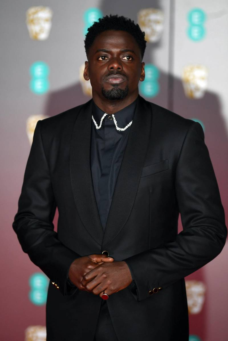 epa08189069 Daniel Kaluuya attends the 73rd annual British Academy Film Award at the Royal Albert Hall in London, Britain, 02 February 2020. The ceremony is hosted by the British Academy of Film and Television Arts (BAFTA).  EPA-EFE/NEIL HALL