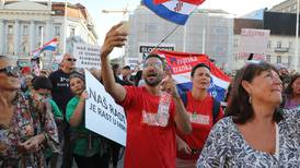 Thousands rally in Croatia against Covid-19 measures