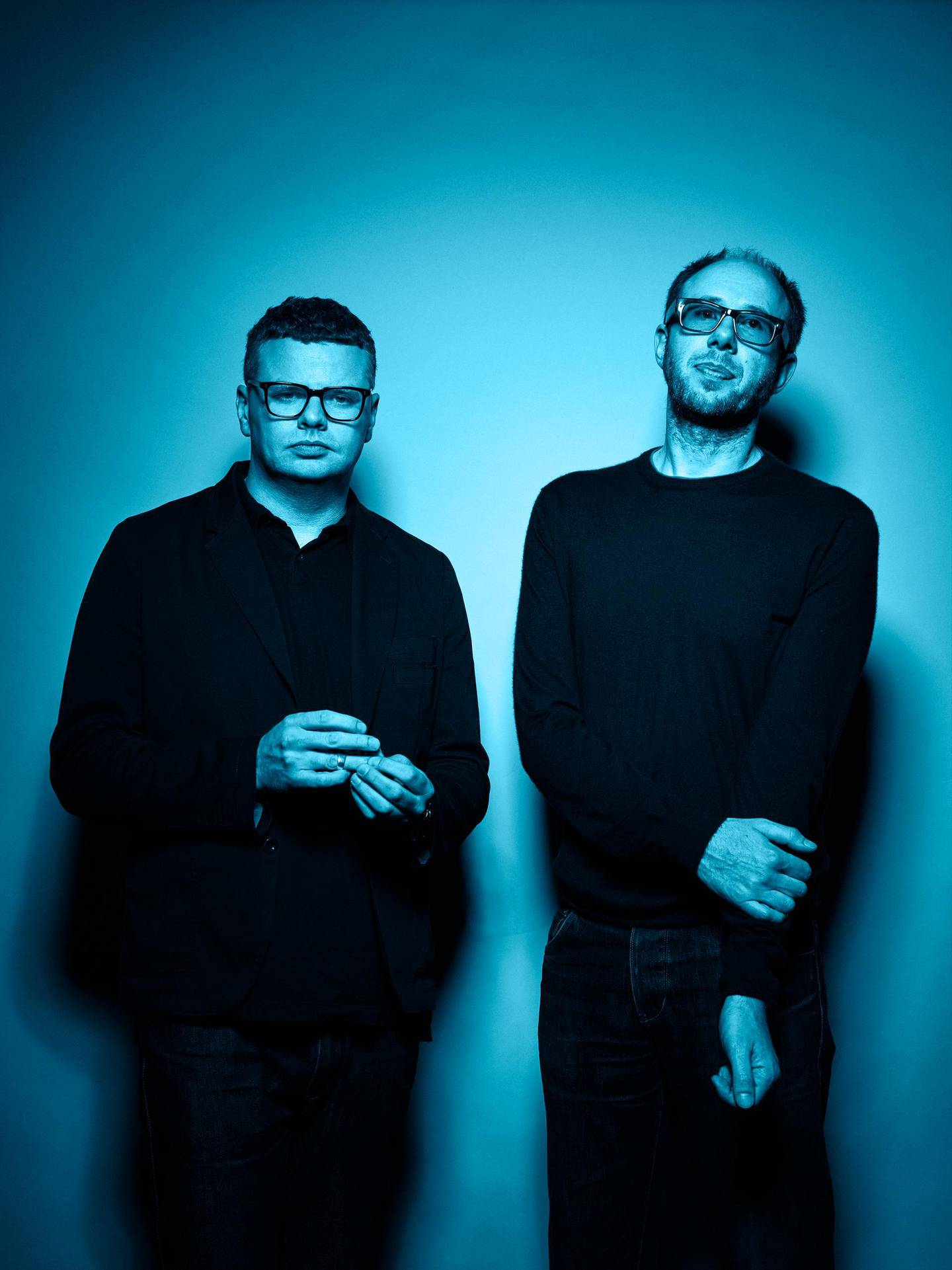 A handout photo of The Chemical Brothers *NO CREDITS* *** Local Caption ***  al22no-cover-chembros.jpg