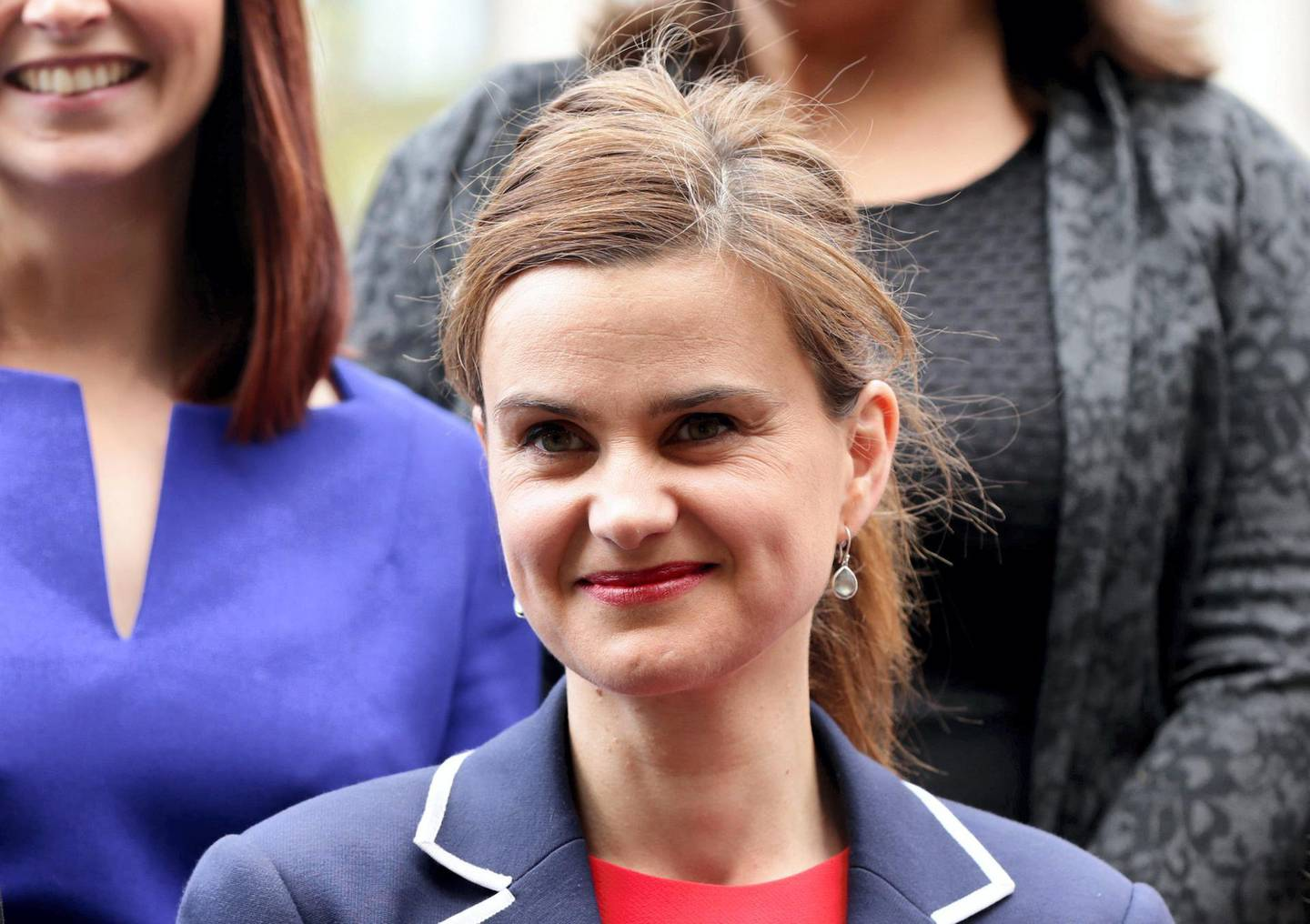 G3YFE9 Previously unreleased photo dated 12/05/15 of Labour MP Jo Cox, who has been shot in Birstall near Leeds, an eyewitness said.